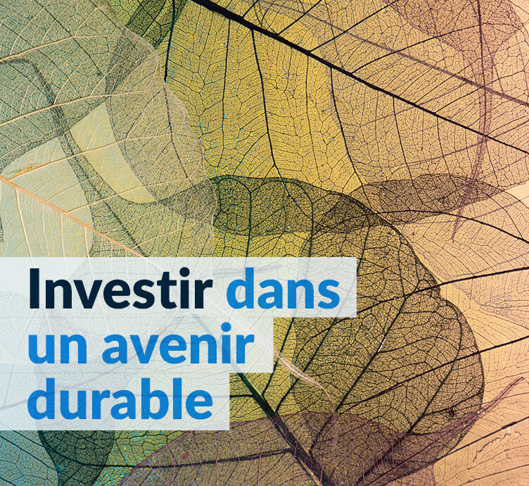 Rapport d'investissement responsable 2020 – Investir dans un avenir durable